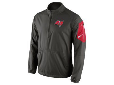 Tampa Bay Buccaneers Nike NFL Men's Lockdown Half Zip Jacket