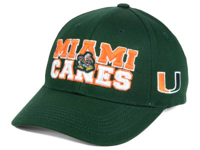 Miami Hurricanes NCAA 2 for $25 Top of the World NCAA Teamwork Cap