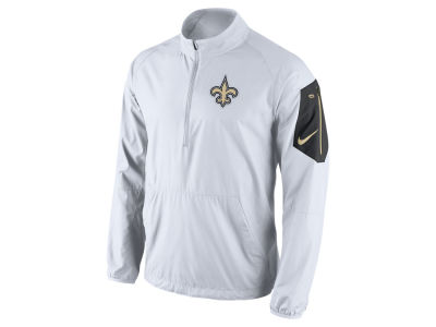 New Orleans Saints Nike NFL Men's Lockdown Half Zip Jacket