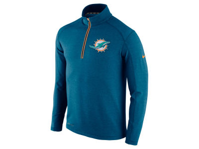 Miami Dolphins Nike NFL Men's Game Day 1/4 Zip Knit Jacket