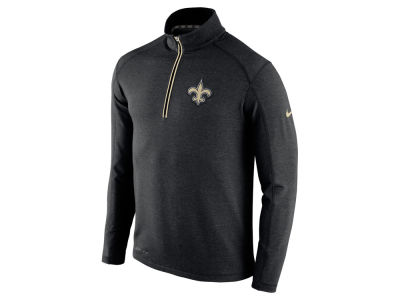 New Orleans Saints Nike NFL Men's Game Day 1/4 Zip Knit Jacket