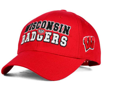 Wisconsin Badgers 2 for $28 Top of the World NCAA Teamwork Cap
