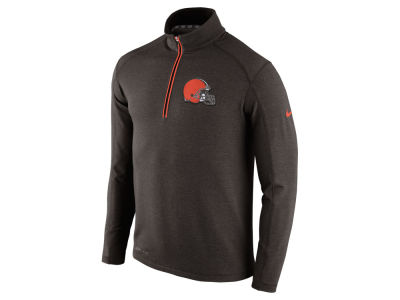 Cleveland Browns Nike NFL Men's Game Day 1/4 Zip Knit Jacket