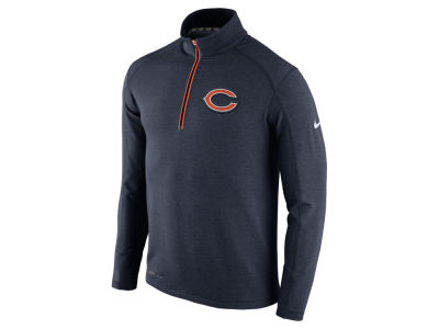 Chicago Bears Nike NFL Men's Game Day 1/4 Zip Knit Jacket