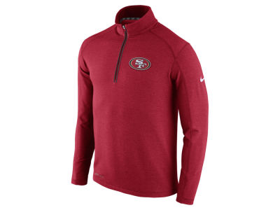 San Francisco 49ers Nike NFL Men's Game Day 1/4 Zip Knit Jacket