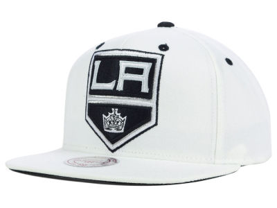 Los Angeles Kings Mitchell and Ness NHL Current XL Logo Solid Snapback Cap
