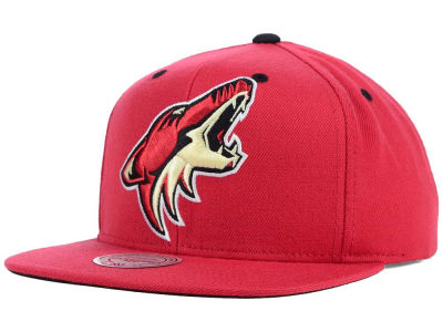 Phoenix Coyotes Mitchell and Ness NHL Current XL Logo Solid Snapback Cap