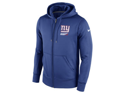 New York Giants Nike NFL Men's Sideline KO Fleece Full Zip Hoodie