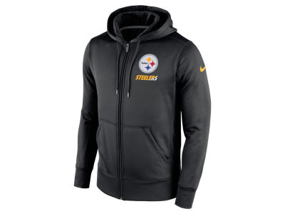 Pittsburgh Steelers Nike NFL Men's Sideline KO Fleece Full Zip Hoodie