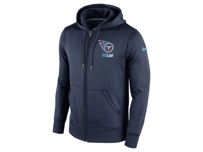 Tennessee Titans Nike NFL Men's Sideline KO Fleece Full Zip Hoodie