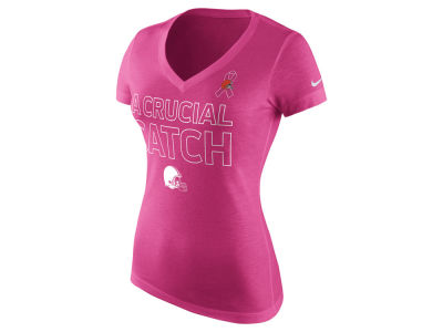 Cleveland Browns Nike NFL Women's BCA Tri-Blend T-Shirt