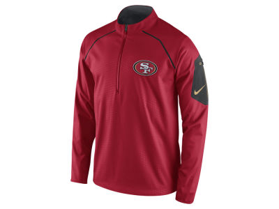 San Francisco 49ers Nike NFL Men's Alpha Fly Rush 1/4 Zip Jacket