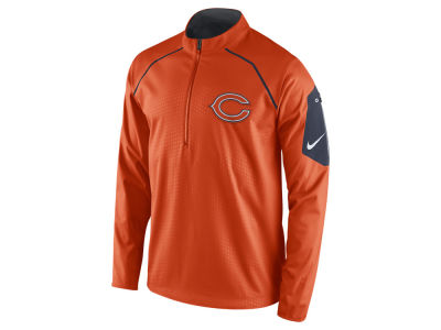Chicago Bears Nike NFL Men's Alpha Fly Rush 1/4 Zip Jacket