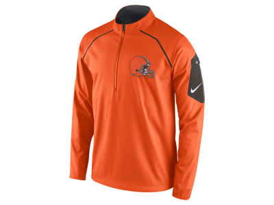 Cleveland Browns Nike NFL Men's Alpha Fly Rush 1/4 Zip Jacket
