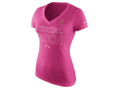 San Diego Chargers Nike NFL Women's BCA Tri-Blend T-Shirt