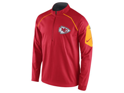 Kansas City Chiefs Nike NFL Men's Alpha Fly Rush 1/4 Zip Jacket