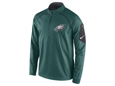 Philadelphia Eagles Nike NFL Men's Alpha Fly Rush 1/4 Zip Jacket