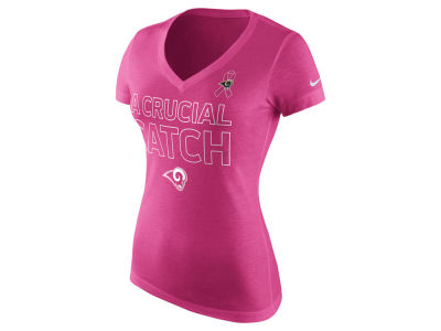 Los Angeles Rams Nike NFL Women's BCA Tri-Blend T-Shirt