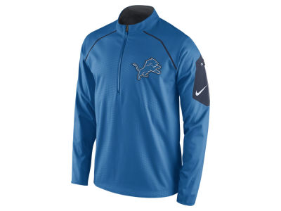 Detroit Lions Nike NFL Men's Alpha Fly Rush 1/4 Zip Jacket