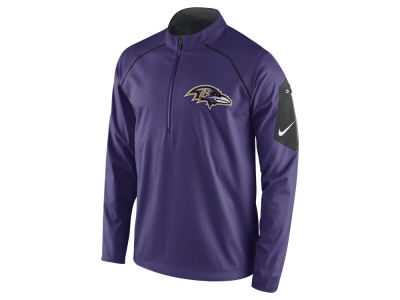 Baltimore Ravens Nike NFL Men's Alpha Fly Rush 1/4 Zip Jacket