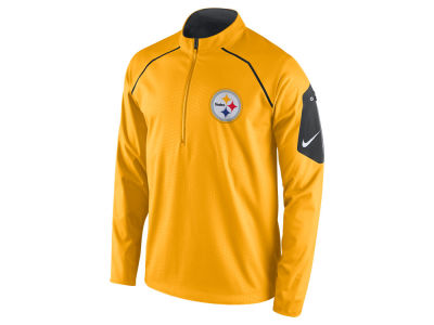 Pittsburgh Steelers Nike NFL Men's Alpha Fly Rush 1/4 Zip Jacket