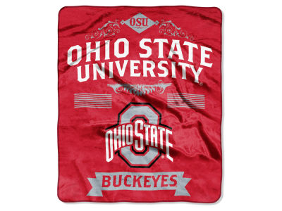 Ohio State Buckeyes 50x60in Plush Throw Team Spirit
