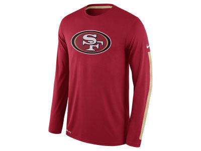 San Francisco 49ers Nike NFL Men's Legend Logo Long Sleeve T-Shirt