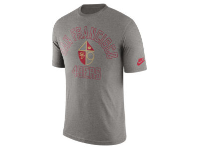 San Francisco 49ers Nike NFL Men's Tri Retro Logo T-Shirt
