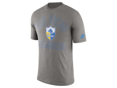 Los Angeles Chargers Nike NFL Men's Tri Retro Logo T-Shirt