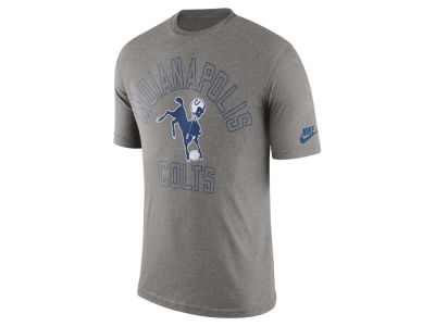 Indianapolis Colts Nike NFL Men's Tri Retro Logo T-Shirt