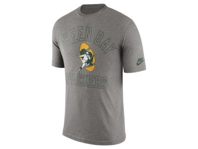 Green Bay Packers Nike NFL Men's Tri Retro Logo T-Shirt