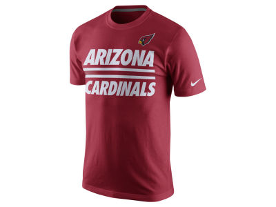 Arizona Cardinals Nike NFL Men's Team Stripe T-Shirt