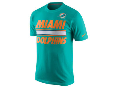 Miami Dolphins Nike NFL Men's Team Stripe T-Shirt