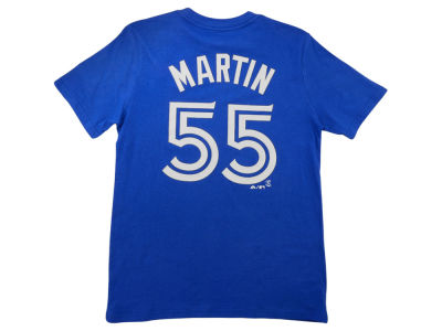Toronto Blue Jays Russell Martin MLB Youth Player T-Shirt