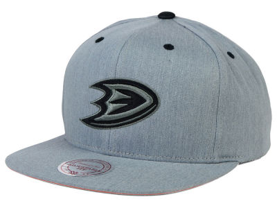Anaheim Ducks Mitchell and Ness NHL Broad Street Snapback Cap