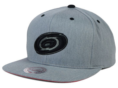Carolina Hurricanes Mitchell and Ness NHL Broad Street Snapback Cap