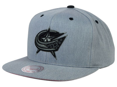 Columbus Blue Jackets Mitchell and Ness NHL Broad Street Snapback Cap