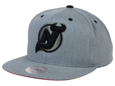New Jersey Devils Mitchell and Ness NHL Broad Street Snapback Cap