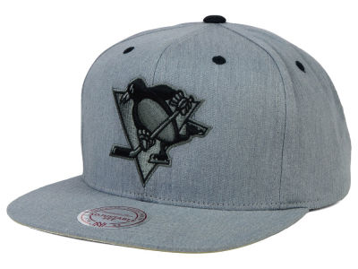 Pittsburgh Penguins Mitchell and Ness NHL Broad Street Snapback Cap