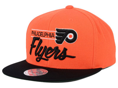 Philadelphia Flyers Mitchell and Ness NHL City Bar Snapback Cap