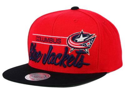 Columbus Blue Jackets Mitchell & Ness NHL City Bar Snapback Cap