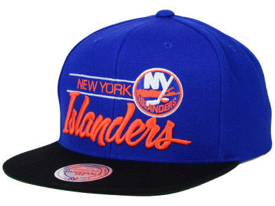 New York Islanders Mitchell and Ness NHL City Bar Snapback Cap