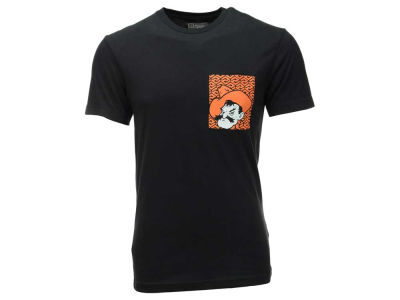 Oklahoma State Cowboys Majestic NCAA Men's Fulfillment Pocket T-Shirt