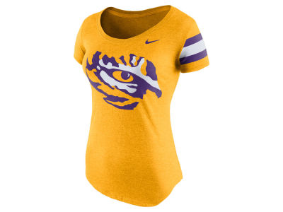 LSU Tigers Nike NCAA Women's Scoop Team DNA T-Shirt