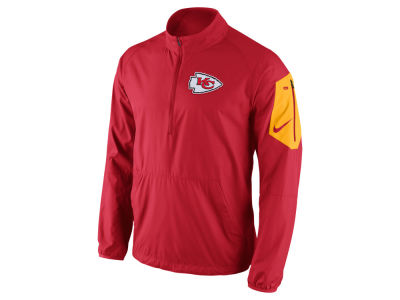 Kansas City Chiefs Nike NFL Men's Lockdown Half Zip Jacket