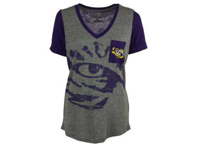 LSU Tigers Majestic NCAA Women's Break The Limit T-Shirt