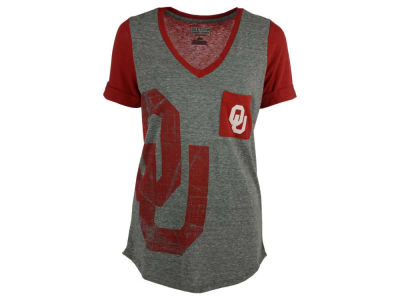 Oklahoma Sooners Majestic NCAA Women's Break The Limit T-Shirt