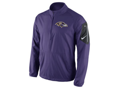 Baltimore Ravens Nike NFL Men's Lockdown Half Zip Jacket