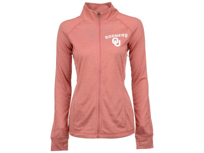 Oklahoma Sooners Majestic NCAA 2015 Women's Count the Wins Full Zip Jacket