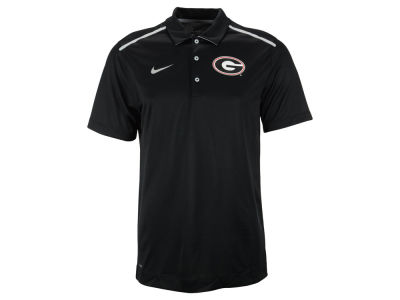 Georgia Bulldogs Nike NCAA Men's CFP Elite Coaches Polo Shirt